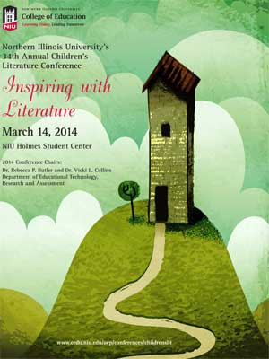 Children's Literature Conference poster
