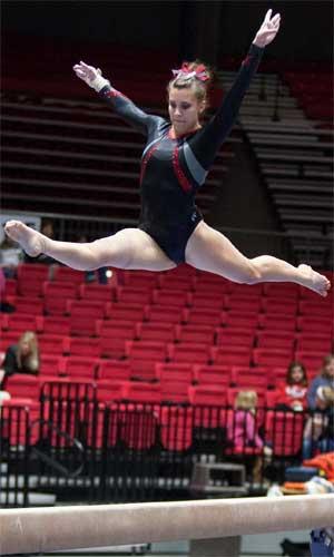 Jufko Natasha Gymnasts Win Eagle Invitational Score Niu Today