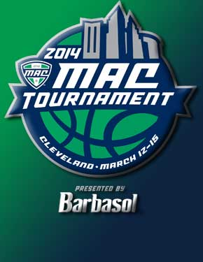 Mid-American Conference men's basketball tournament logo