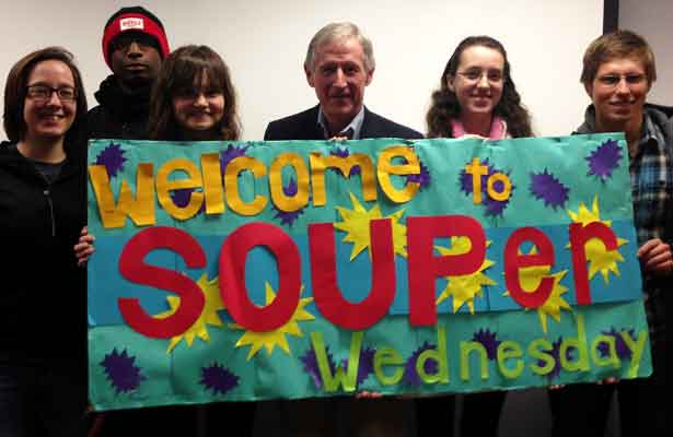 Peter Garrity at Souper Wednesday