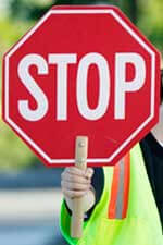 Photo of a stop sign