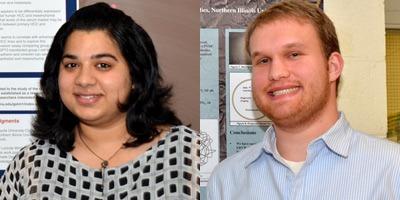 Gunisha Arora and Evan Wittke