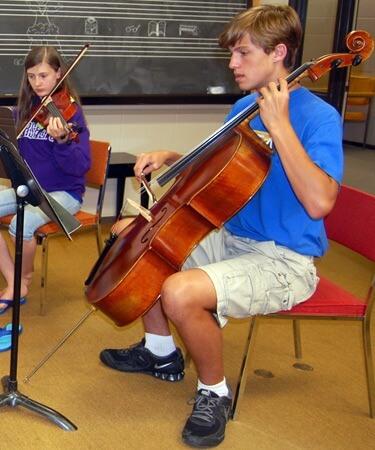 String Quartet Chamber Camp