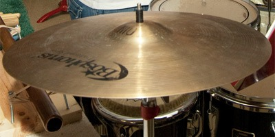Photo of a cymbal