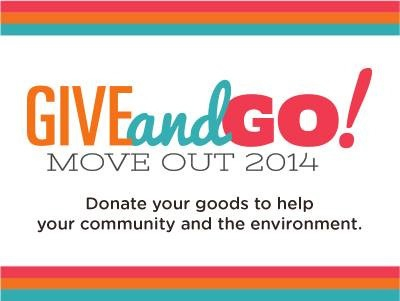 NIU Give and GO! Move Out 2014