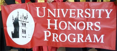 University Honors Program banner