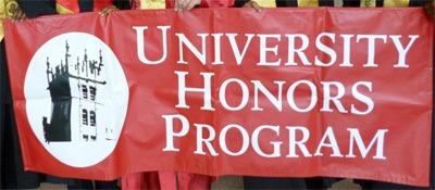 University Honors Program banner