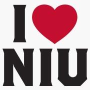 I Heart NIU logo