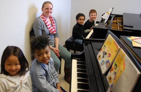 Community School of the Arts piano students