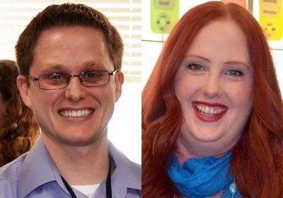 Joshua Rollins and Amanda Schiesher