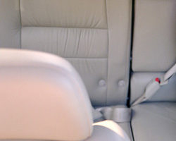 Photo of seats in a car