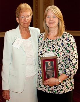 Dana Ditrichs-Kunkel (right) and Patricia S. Siebrasse