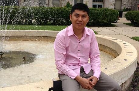 NIU graduate student Nay Yan Oo