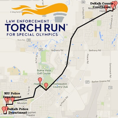 Torch-Run-route