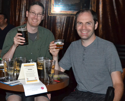 Mmm ... Two Brothers beer ...