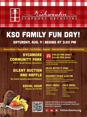 KSO Family Fun Day poster