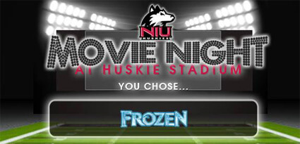 Movie Night at Huskie Stadium