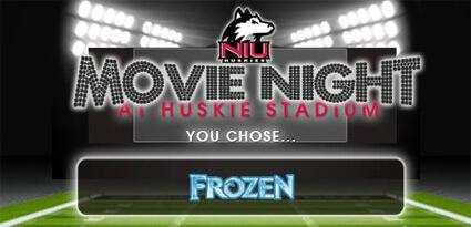 Movie Night at Huskie Stadium