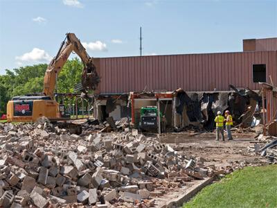 Stevens Building construction