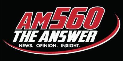 AM 560 The Answer logo