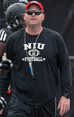 Hear from NIU Head Coach Rod Carey before, during and after every home football game broadcast on AM 560 The Answer.