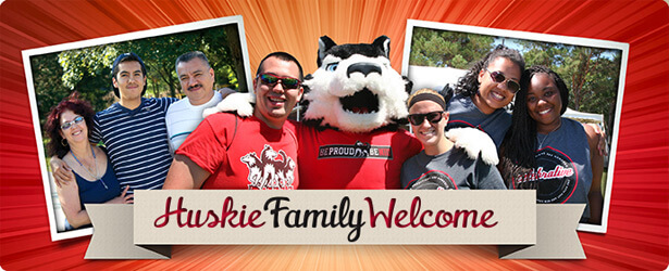 Huskie Family Welcome