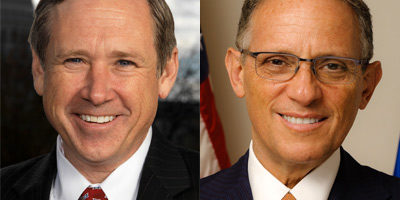 U.S. Sen. Mark Kirk and Fred P. Hochberg