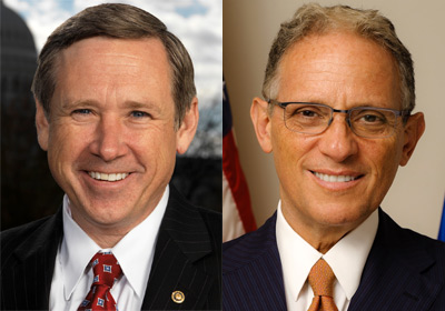 U.S. Sen. Mark Kirk and Fred Hochberg