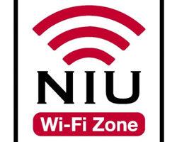 NIU Wi-Fi Zone logo