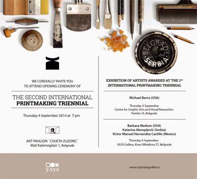 Second International Printmaking Triennial