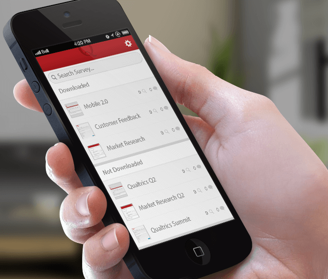 qualtrics mobile