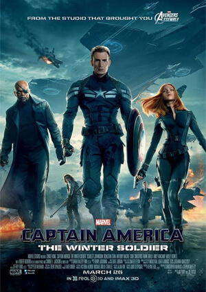 """""""Captain America: The Winter Solider"""" poster"""