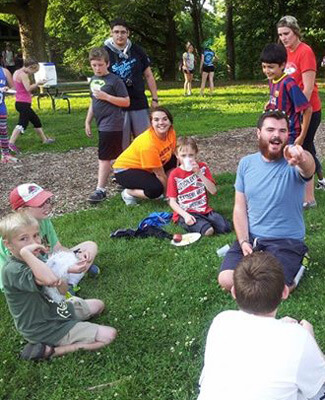 CLCE major Carson Cross served as assistant director of Camp Shaw-waw-nas-see, a children's summer camp, this summer.