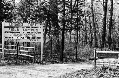 Lorado Taft entrance / 1950s
