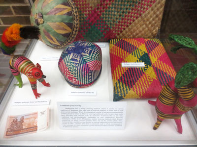 """""""Ancestry Transcending the Oceans: An Exhibition of Madagascar and its Cultural Ties to Southeast Asia."""""""