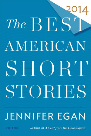 Book cover of The Best American Short Stories 2014