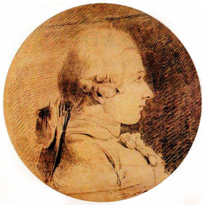 Marquis de Sade portrait, circal 1760