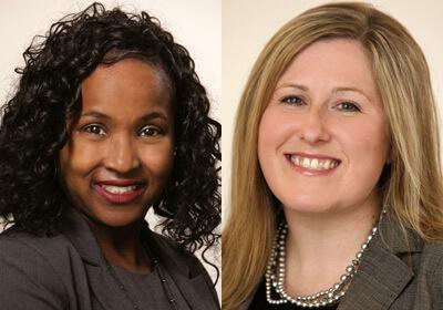 Kenya Jenkins-Wright and andHeather Wier Vaught