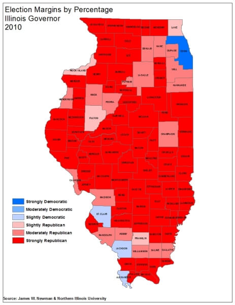 Governor Margin 2010