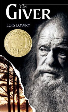"Book cover of Lois Lowry's ""The Giver"""