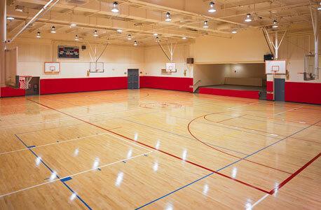 Photo of a gymnasium