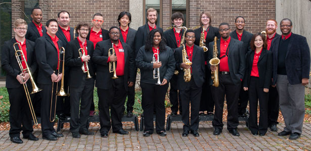The 2014-15 NIU Jazz Ensemble