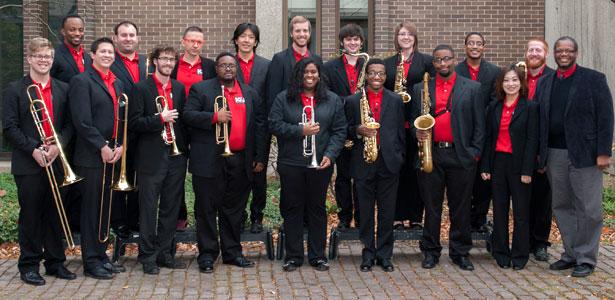 The 2014-15 NIU Jazz Ensemble