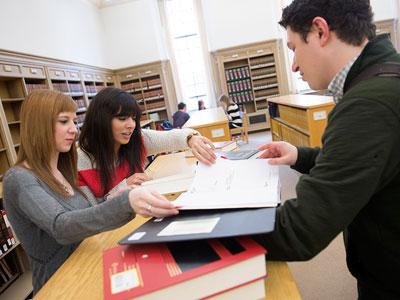 NIU's David C. Shapiro Memorial Law Library