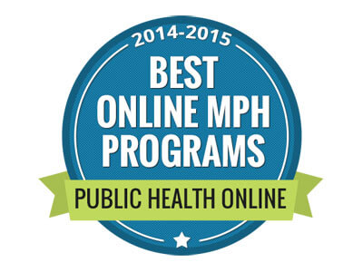 Best Online MPH Programs: Public Health Online badge