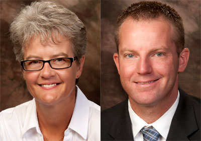 Jenny Parker and Jim Ressler