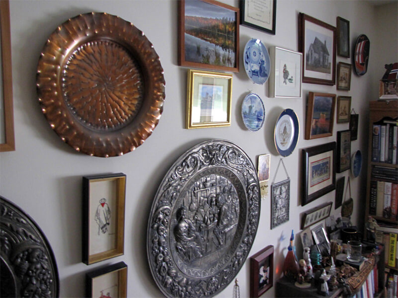 Objects in the collection of DeKalb resident Rodney Borstad.