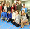 2014 SROP students visit FermiLab with Julia Spears and Stephanie Zobac.