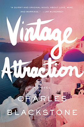 "Book cover of ""Vintage Attraction"" by Charles Blackstone"