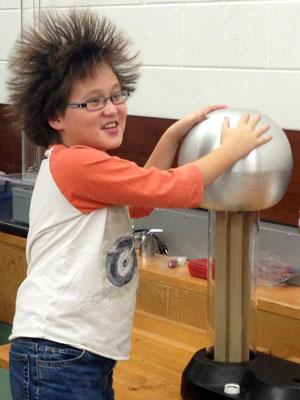 Hair-raising fun!
